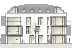 Wohnanlage + Stadthäuser in Ludwigsburg