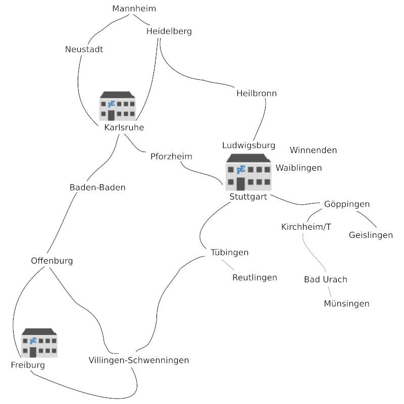 Karte Plangruppe Emhardt